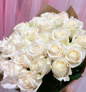 Розы цветы свежие