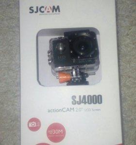 Экшн видеокамера SJCAM SJ4000