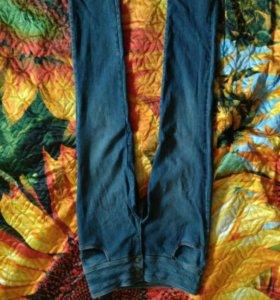 Фирменные женские джинсы с завышенной талией