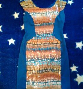 Эффектное платье Acasta