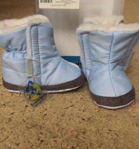 Зимние ботиночки 18 размер