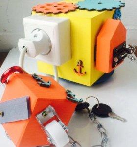 🌟Бизикуб/бизиборд/развивающая игрушка