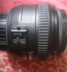 Объектив nikor 50mm 1.4