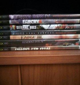 7 игр на Xbox 360 на прошитый