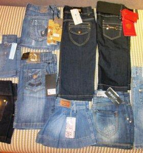 новая джинсовая одежда