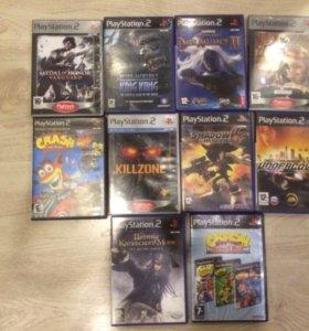 Sony Plastation 2+ 9 игр