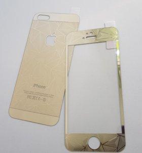Стекла защитные на IPhone 5 5S SE