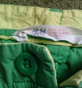 Брючки H&M унисекс и рубашка