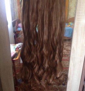 Шиньон,накладные волосы