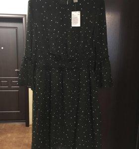 Новое шифоновое платье HsM