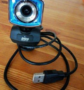 Веб камера с микрофоном в отличном состоянии