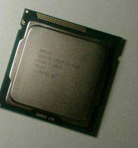 Процессор I5 2400. 4 ядра, 1155