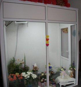 Хлодильная камера для цветов с подсветкой