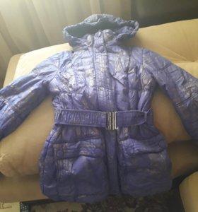 Куртка на синтепоне рост 152