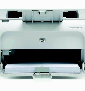 Принтер HP P1005