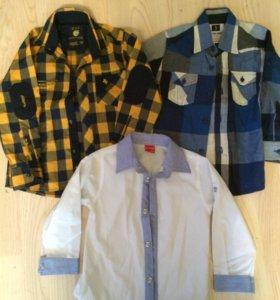 Рубашки для мальчика (98-104р