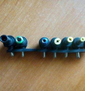 Нобор концевиков для зарядного устройства для ноут