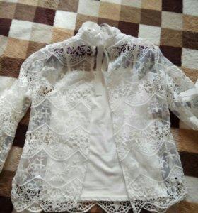 Блузка-накидка