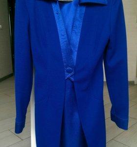 Платье + пиджак 42 р-р