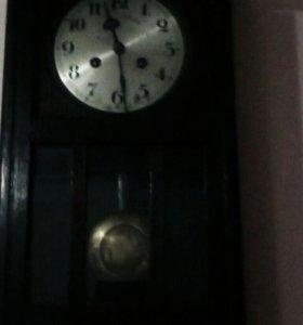 Часы деревянный корпус