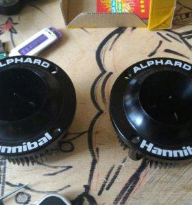 Alphard Hannibal HLG-25NEO black 4OHM