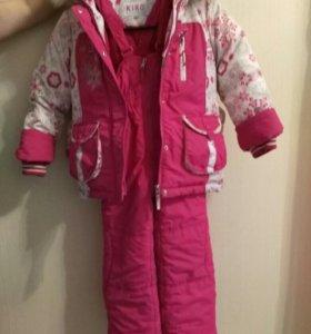 Комплект зимний для девочки 5-6 лет