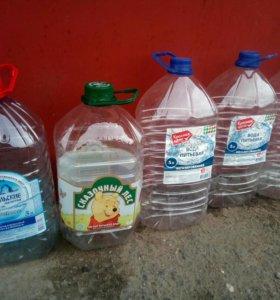 Пустые бутылки 5л