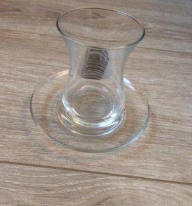 Набор стаканов для чая или кофе.