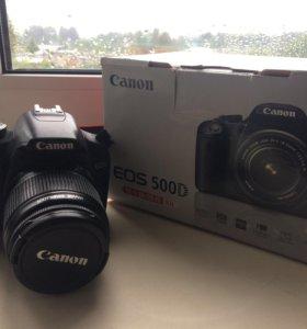 Canon 500D Kit 18-55