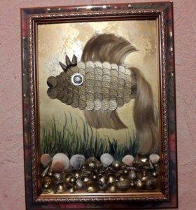 Денежная рыбка.