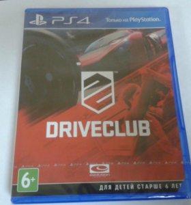 Новый диск Driveclub