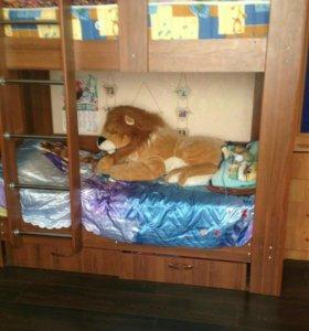 Кровать 2-х яр