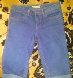 Шорты джинсовые pull and bear