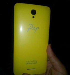 Крышка для телефона Alcatel Onetouch Pop