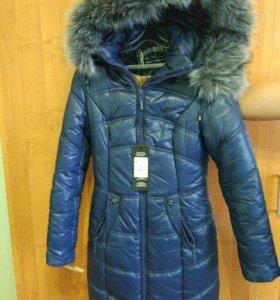 Новая зимняя куртка 42-44 размер