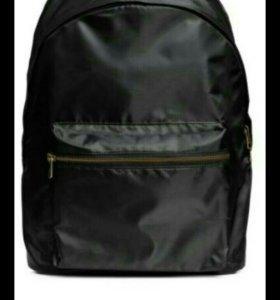 Новый черный рюкзак