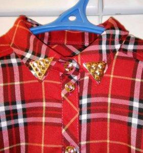 Модная рубашка для девушки