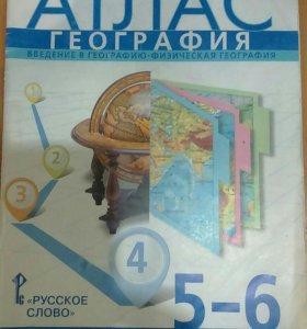 📕📖   Атлас География 5-6 класс.