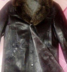 Куртка кожаная (зимняя)