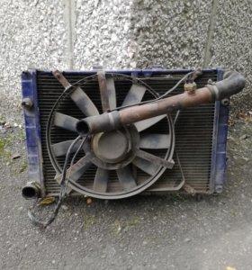 Радиатор для 406 дв.