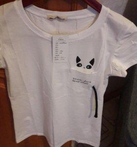 Новая футболка 44 размер
