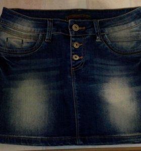 Джинсовая юбка 42-44 размер