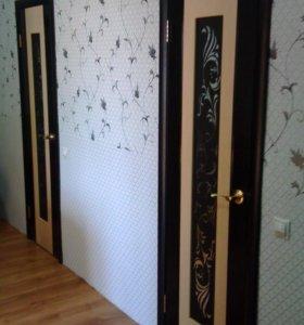 монтаж входных и межкомнатных дверей,арок,порталов