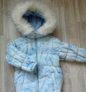 Зимняя куртка р.98