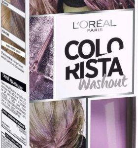 Лореаль колориста лавандовые волосы сиреневый крас