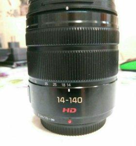 Panasonic lumix 14- 140 mm HD
