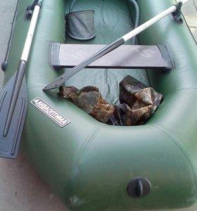 """Двухместная надувная лодка, пхв. Новая """"Акваоптима"""