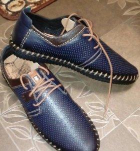 Туфли натуралка мужские новые 42 размер
