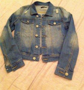 Куртка джинсовая от Киры Пластининой