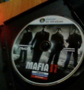 Диск Mafia 2 в хорошем состоянии